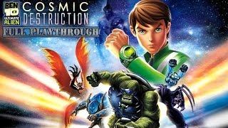 Ben 10 Ultimate Alien: Cosmic Destruction (Xbox 360) (Full Original Playthrough)