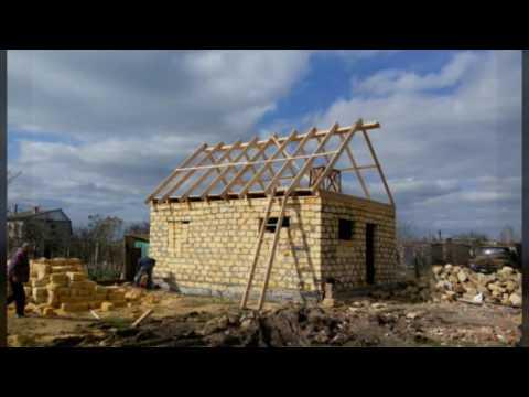 видео как строить дом из ракушняка Московская область