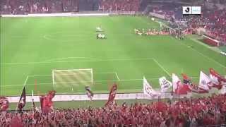 ナビスコカップ準々決勝第2戦 浦和レッズ×アルビレックス新潟のハイライ...