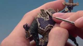How to paint Nagash (Part 3 of 4) - Painting the body.
