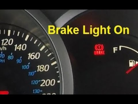 Why Brake Light Comes On When Car Accelerates And How To Fix It!
