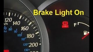 Why my Brake Light Comes On when I Accelerate and How To Fix It!