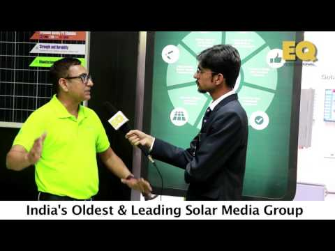 Mr  Chetan Shah (Director) at Goldi Green Solar PV Modules