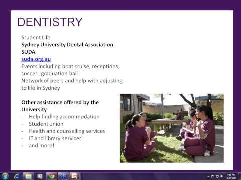 University of Sydney Doctor of Dental Medicine Informational