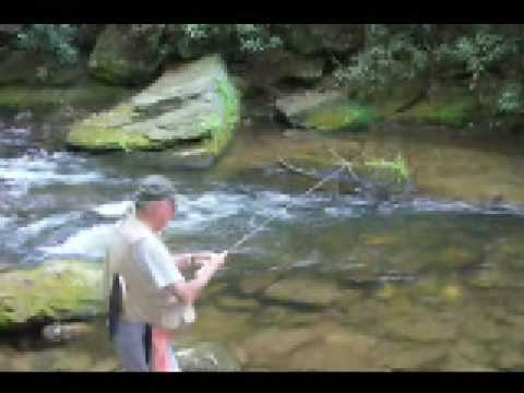 Helen georgia trout fishing 2008 youtube for Trout fishing in ga