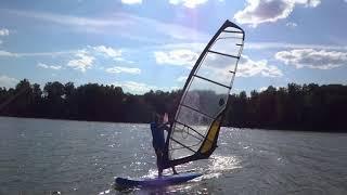 Надувной  WindSUP - виндсерфинг и САП серфинг в одном флаконе!
