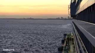 Carnival Breeze Sail Away from Miami 12/6/14 Ultra HD 4K
