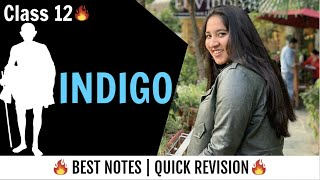 Indigo chapter summary in Hindi | Class 12 English | Line by line reading