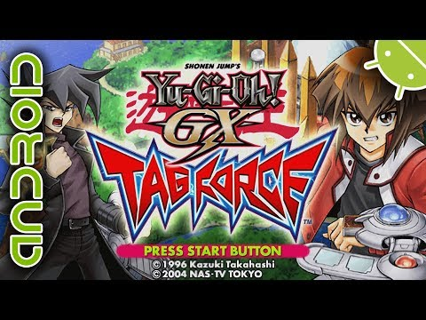 Yu-Gi-Oh! Duel Monsters GX: Tag Force - NVIDIA SHIELD Android TV - PPSSPP Emulator - Sony PSP - 동영상