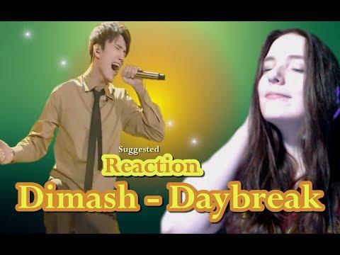 Dimash  -  Daybreak  | Suggested Reaction #85