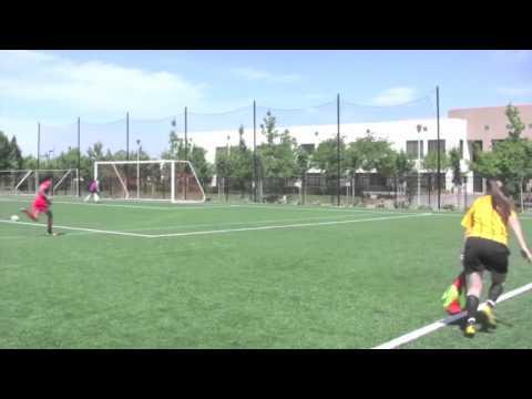 Morgan McGarry 4 Mustang Soccer ECNL