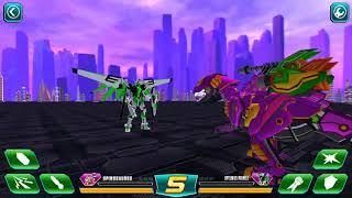 Super Transformer Robot Dinosaur Build and Fight Gameplay HD Part 3