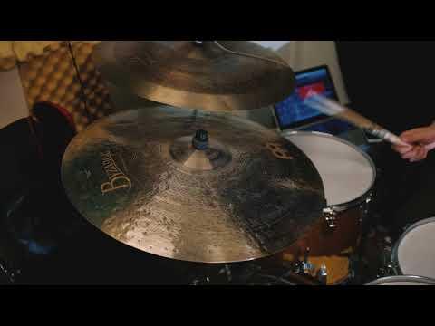 "Meinl Byzance Jazz Monophonic Ride 22"""