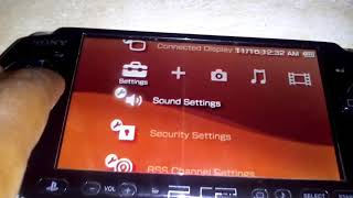 How to reset psp