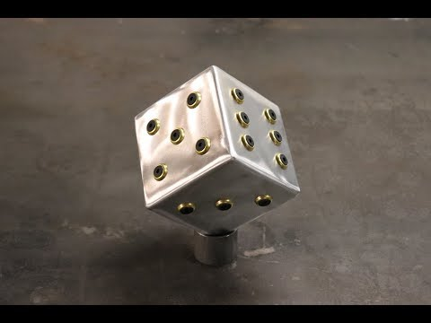 MORE ALUMINIUM DICE!  FABRICATION TIPS, TRICKS AND HICCUPS.
