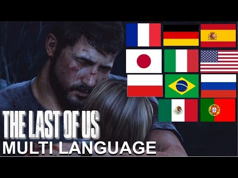 Voice Comparison - Sarah's Death Scene | The Last Of Us Multi Language
