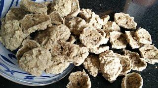 (अमृतसरी वडियां / मसाला उरद दाल वडियां) Amritsari Wadiyan Recipe in Hindi by Healthy Kadai