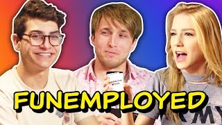 WE\'RE PLAYING FUNEMPLOYED! (Squad Vlogs)