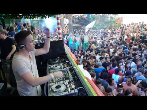 DANNIC live at Guaba Beach Bar Opening Fiesta 2017 Limassol Cyprus