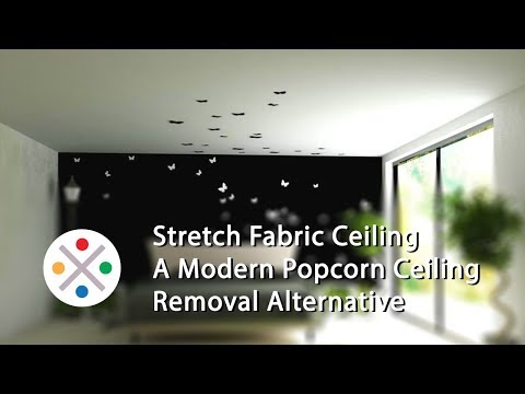 Popcorn Ceiling Removal Alternative