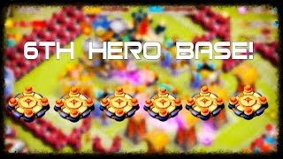 Finally Got The Six Hero Base!!!!