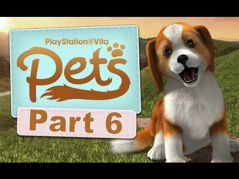 Playstation Vita Pets Let's Play Walkthrough 6 - Shake A Paw!