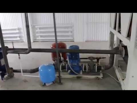 видео: Чиллер АНГАРА серии ebhv, хладопроизводительность 269 кВт
