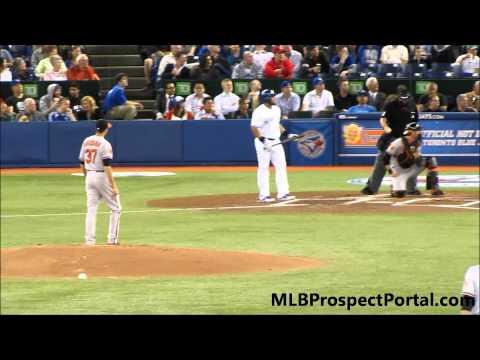 Orioles RHP Kevin Gausman vs Blue Jays OF Melky Cabrera