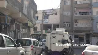 Nusaybin'de, Polis, HDP ve DBP ilçe binasına şafak operasyonu!