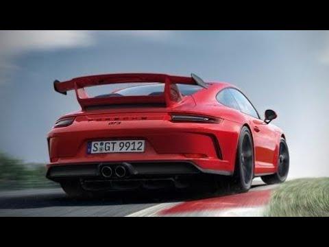 2018 Porsche 911 GT3 Engine Sound 0-60 3.2Sec - A True Track Monster New Car 2018
