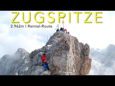Zugspitze, Reintal Route Aufstieg, 2.962m
