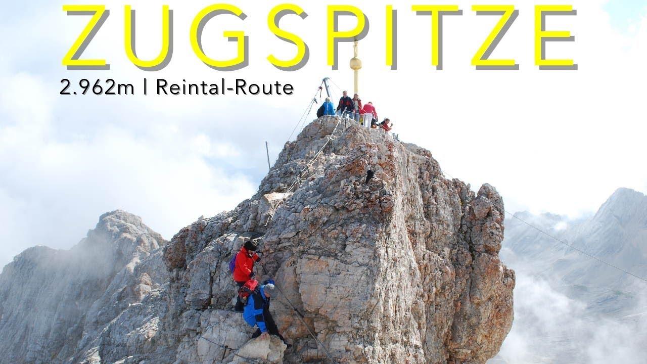 Zugspitze Reintal Route Aufstieg 2 962m Youtube