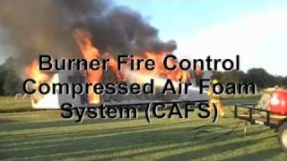 CAFS Compressed Air Foam Systems Test:  Structural Fire