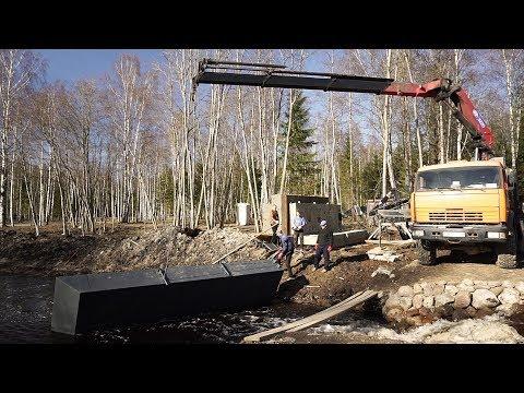 Манипулятор Камаз 43118. Доставка оборудования для очистки водоемов и дноуглубления.