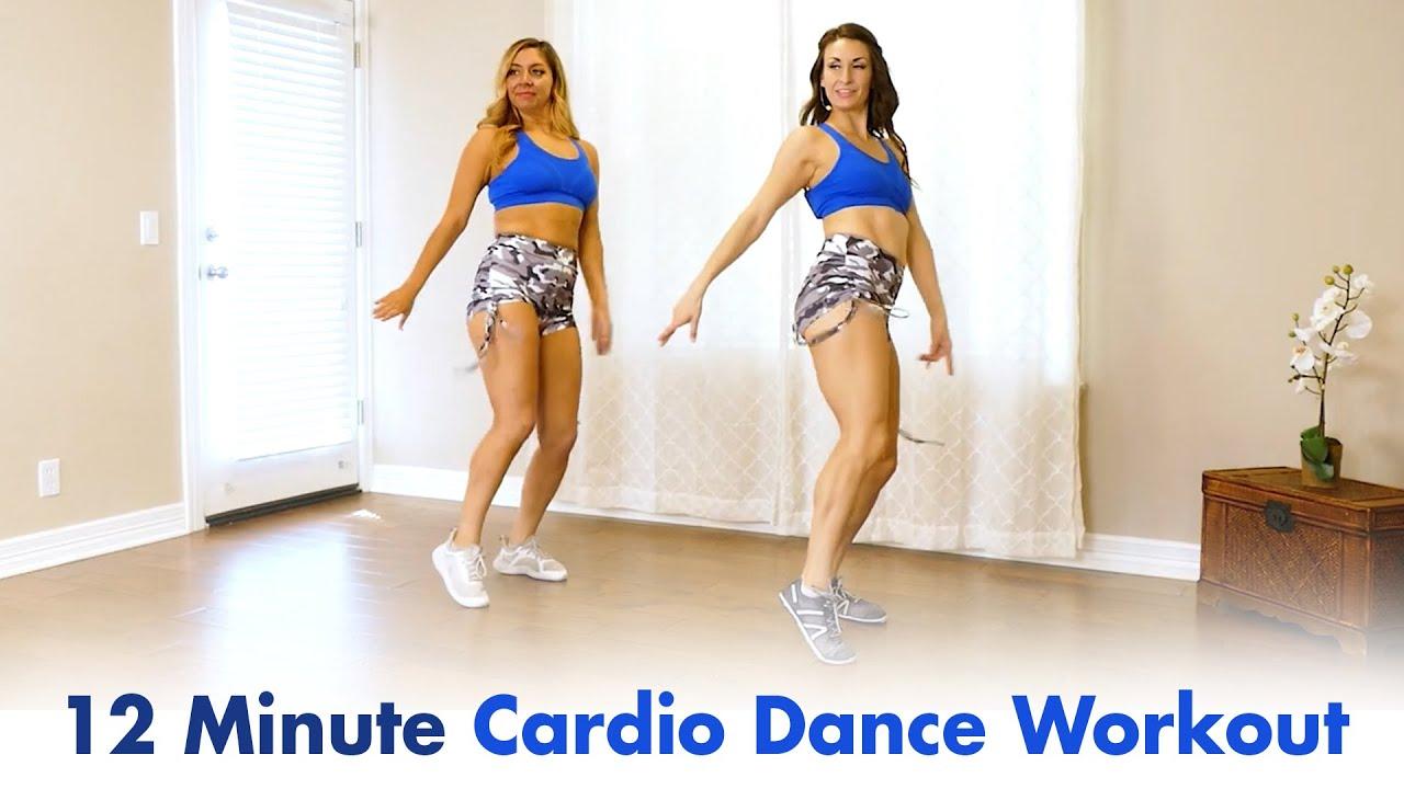 Fun, Fat-Burning Cardio Dance Workout ♥ Hip Hop DanceFit for Weight Loss, Beginners, 12 Min