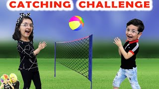 CATCHING CHALLENGE | Funny Family Challenge | Boys vs Girls | Aayu and Pihu Show
