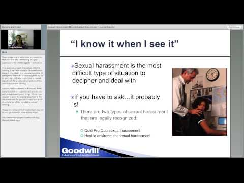 Sexual Harassment Discrimination Awareness Training (non-exempt employees)