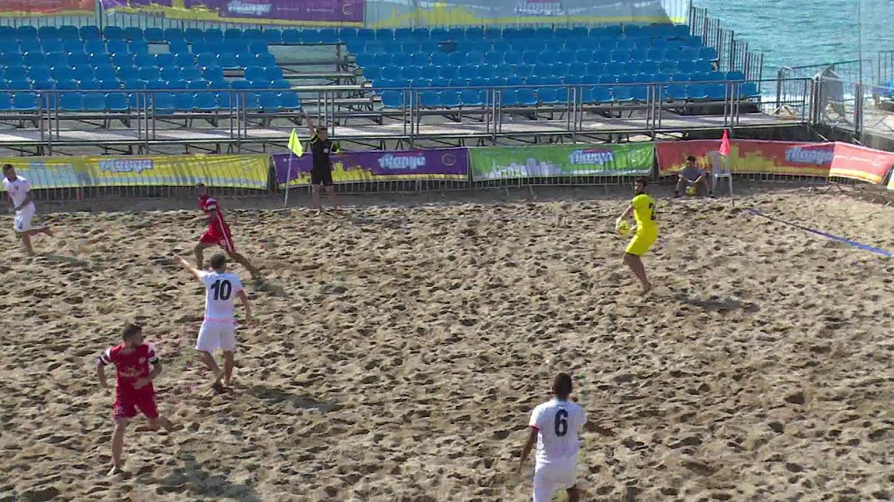 TFF Plaj Futbolu Ligi 2019 Türkiye Şampiyonası Finalleri Başladı
