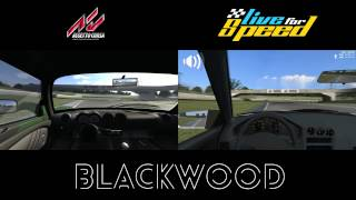 Assetto Corsa VS Live For Speed - Blackwood
