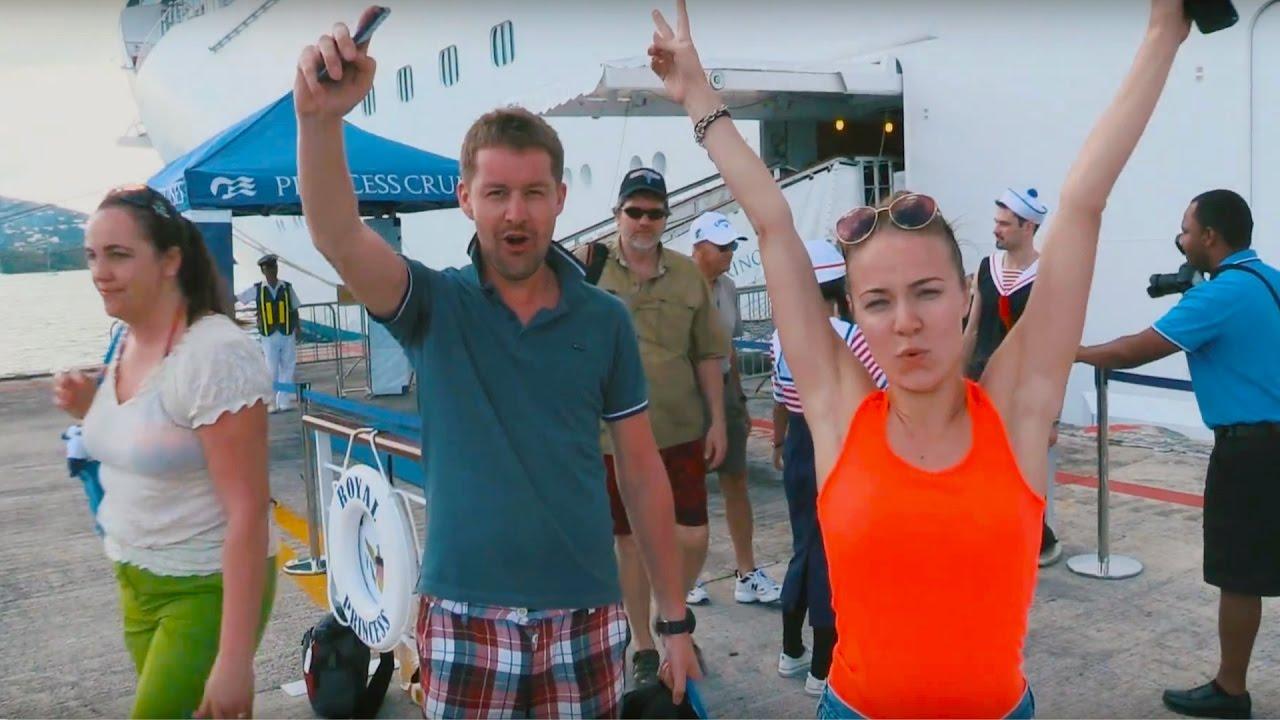 Круиз за 1200$ на Двоих по Карибским Островам