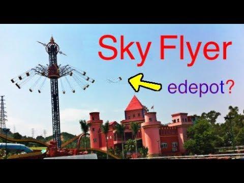 Scary Swing Ride (Sky Flyer)