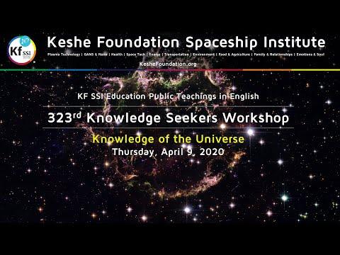 323rd Knowledge Seekers Workshop April 09, 2020
