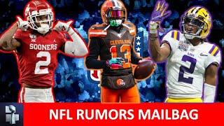 NFL Rumors: Draft Trades, CeeDee Lamb, Justin Jefferson, Cowboys & Raiders Trade, OBJ Trade? Mailbag