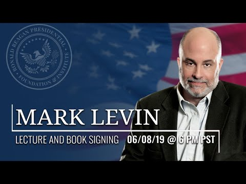 LECTURE AND BOOK SIGNING MARK LEVIN