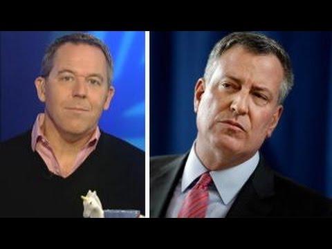 Gutfeld: Lefty Mayor Bill de Blasio proves the joke's on us