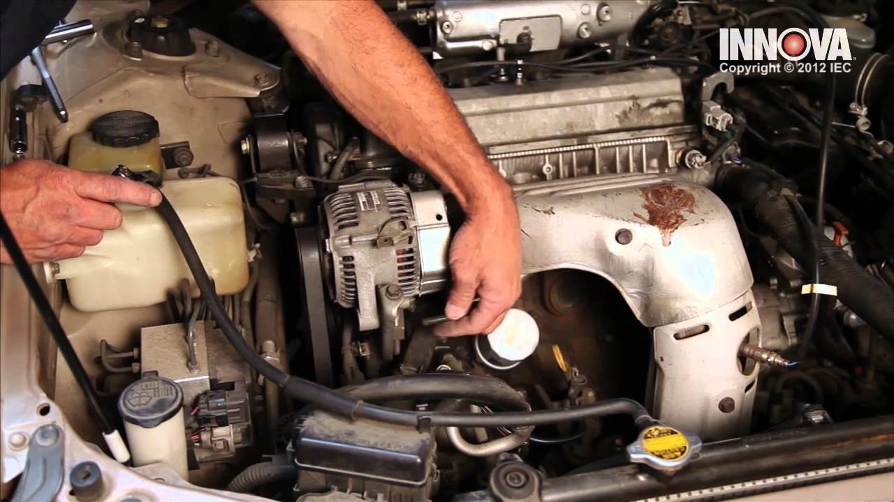 small resolution of how to change alternator 1997 toyota camry