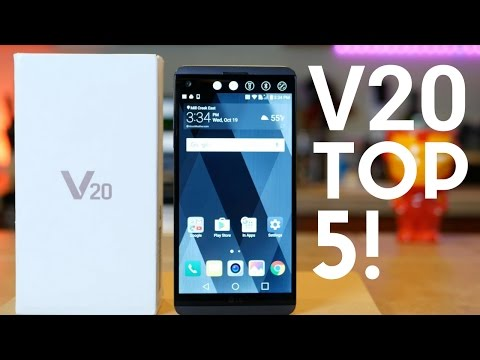 LG V20: TOP 5 FEATURES!