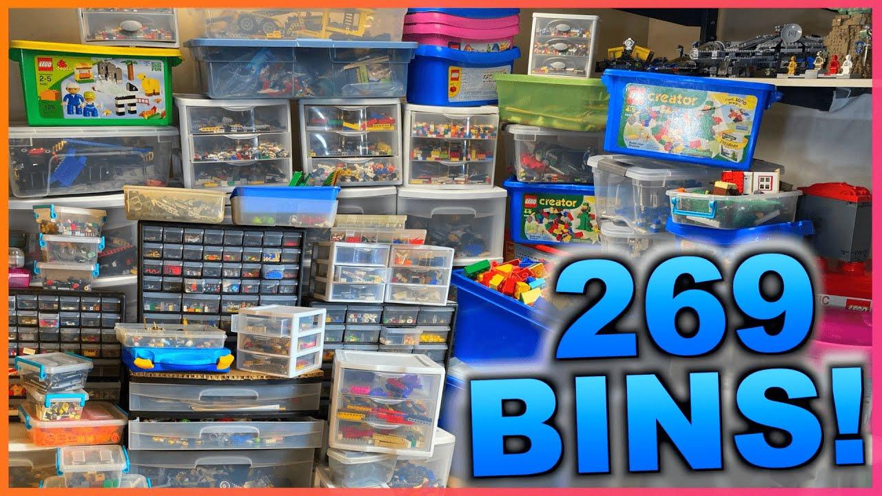 Our *weird* LEGO Storage System