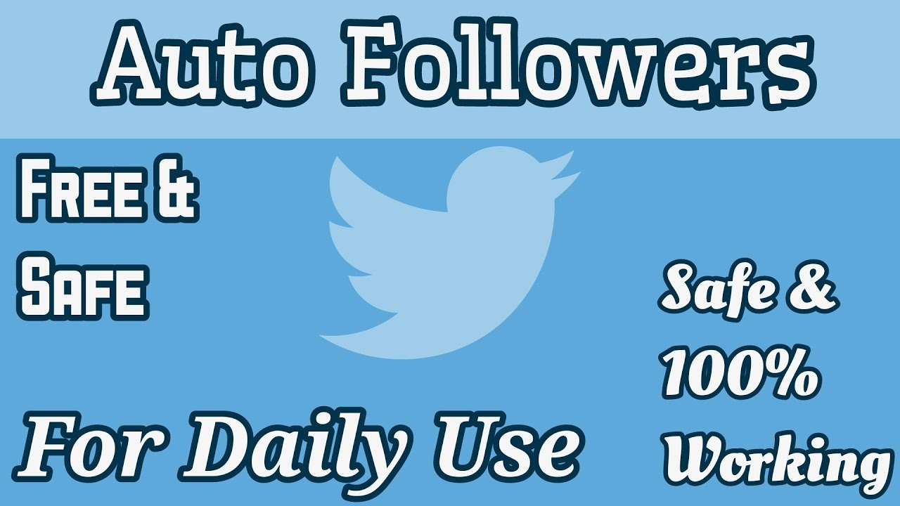 Auto follower twitter - piano-games ga