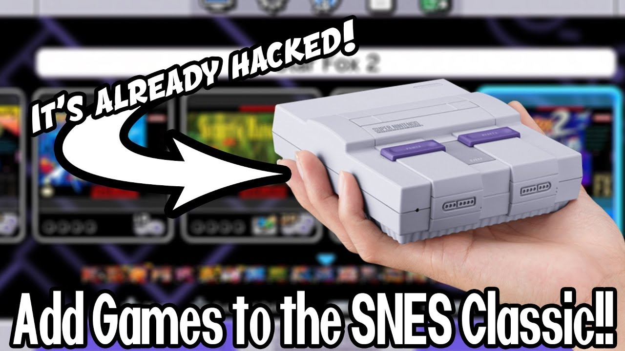 You Can ADD GAMES to the SNES Classic! CONFIRMED!